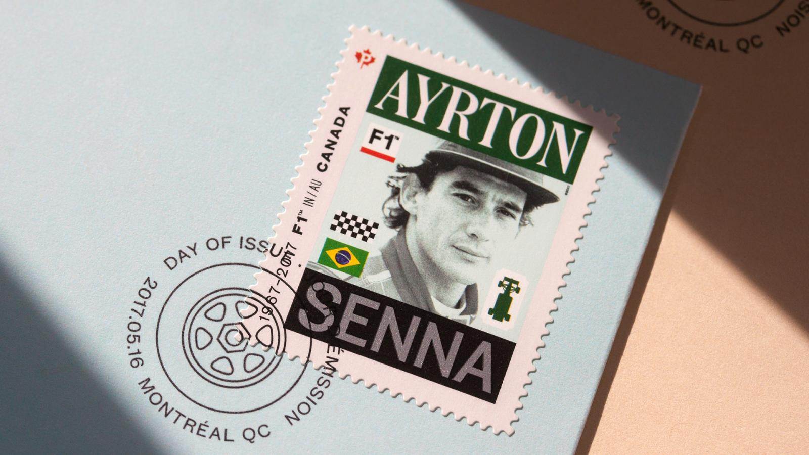 Graphic Design - Classic Formula 1 Inspired Stamps