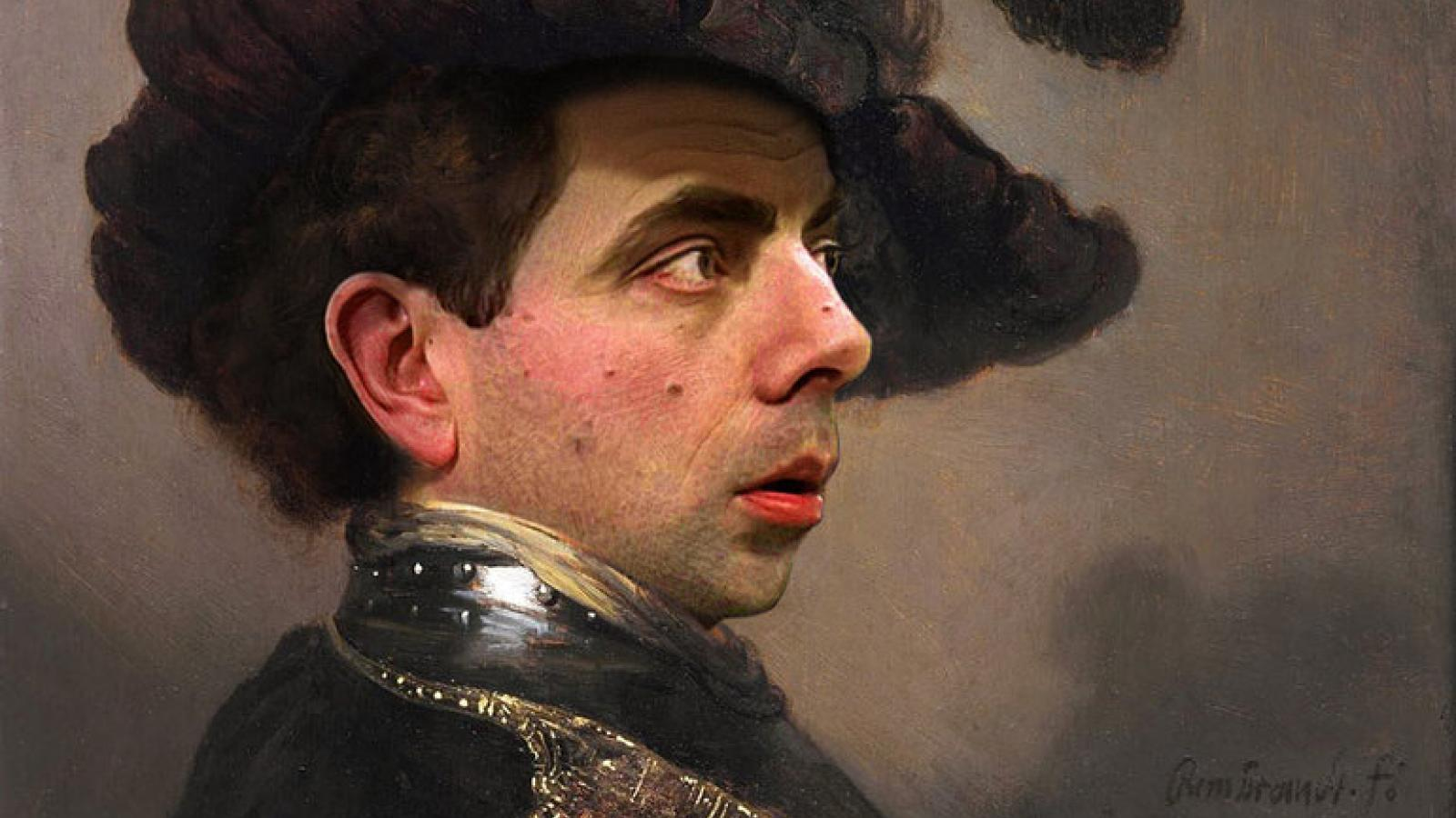 Funny Mr. Bean Photo-manips by Rodney Pike