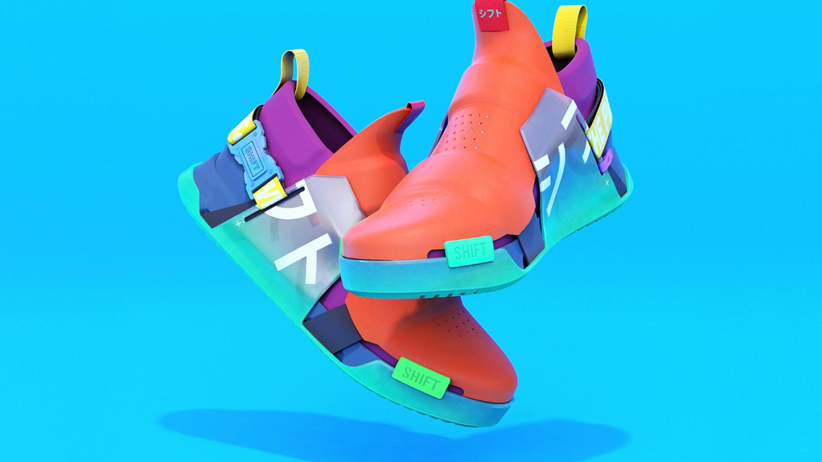 Sneaker Design: SHIFT F1