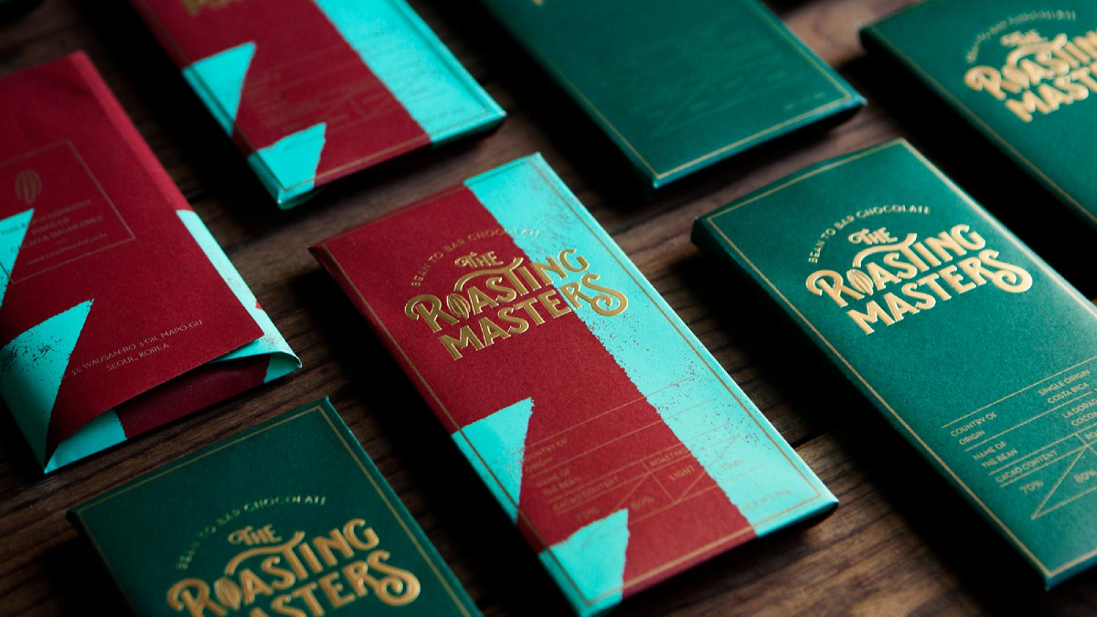 Roasting Masters Branding + Packaging