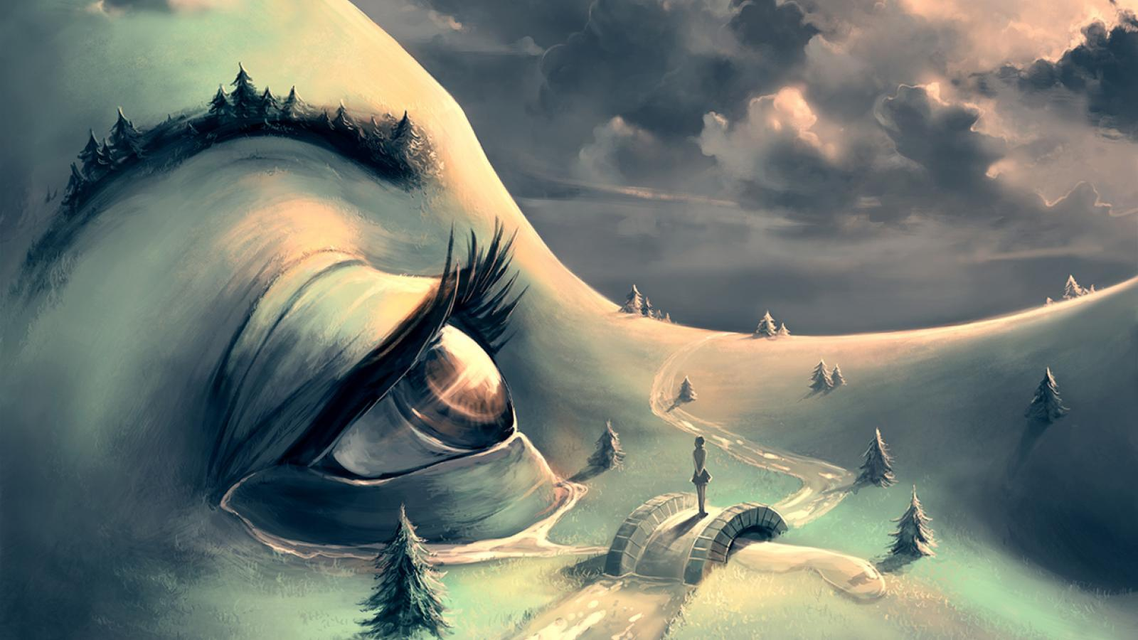 Digital Paintings by Cyril Rolando
