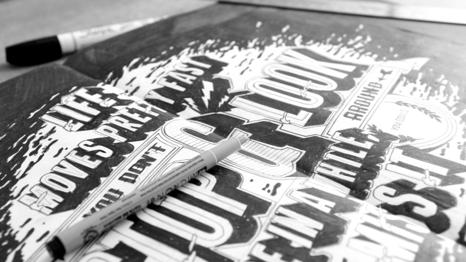 Beautiful Hand Lettering by Ben Johnston