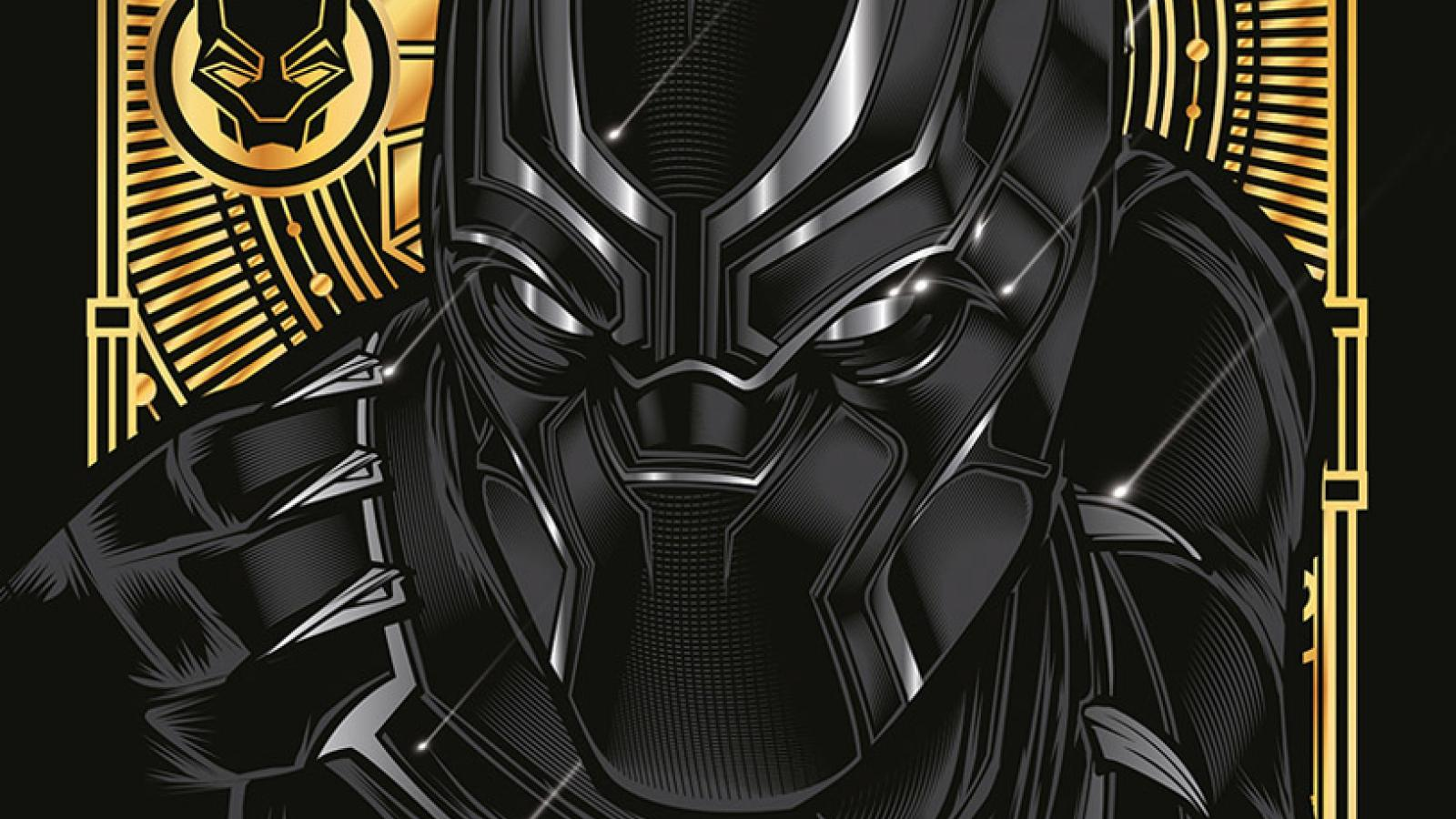 Awesome Illustrations for Black Panther X Clarks Originals