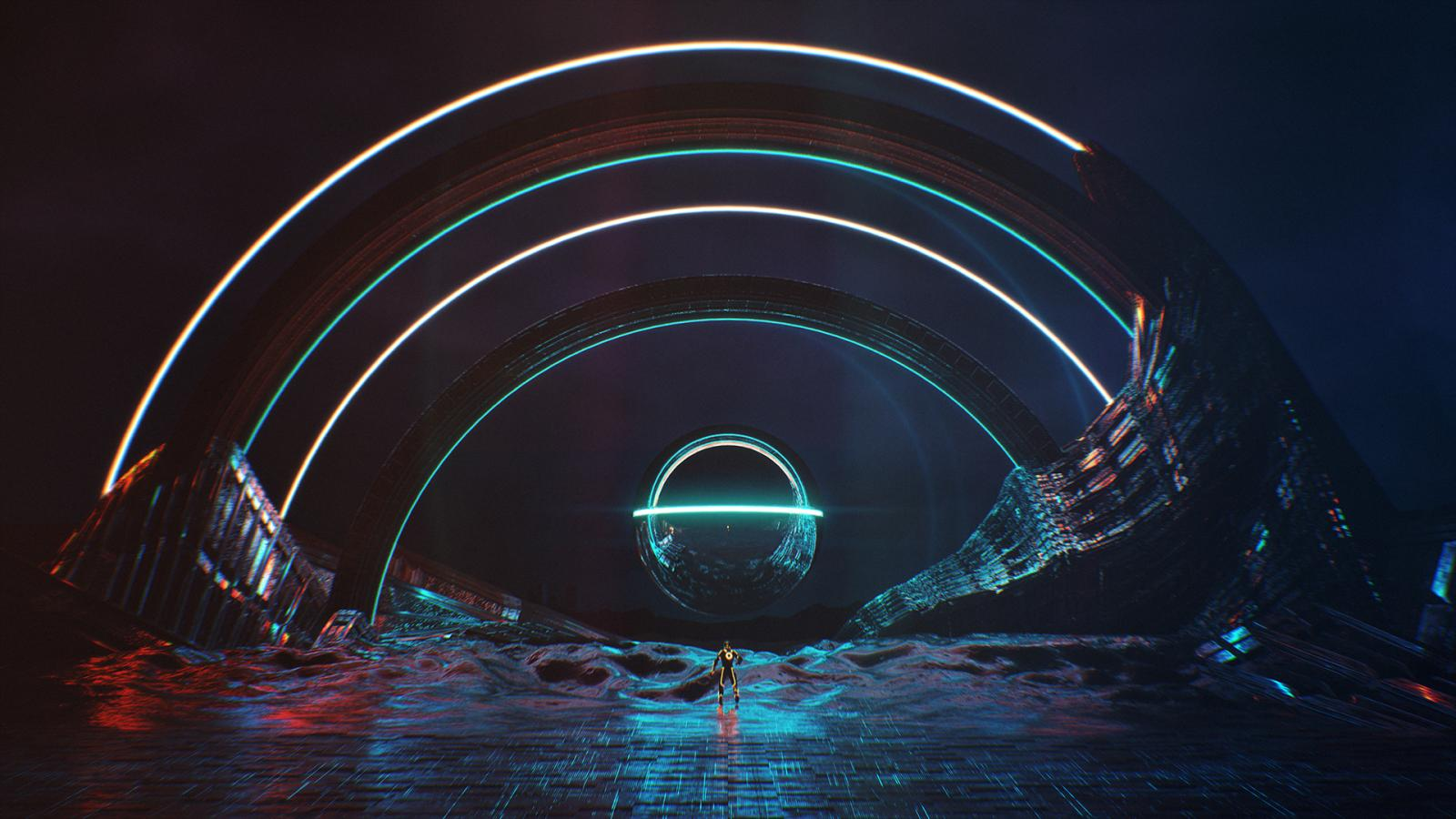 Digital Art & Game Design: TRON Concepts