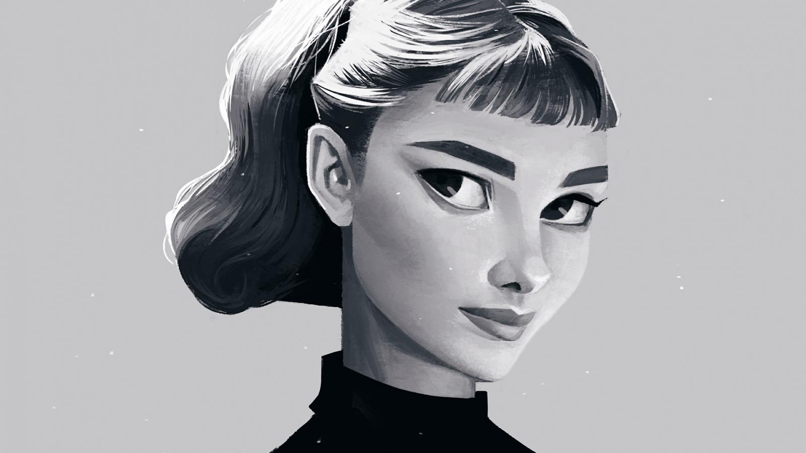 Voguish Portrait Illustrations by Janice Sung