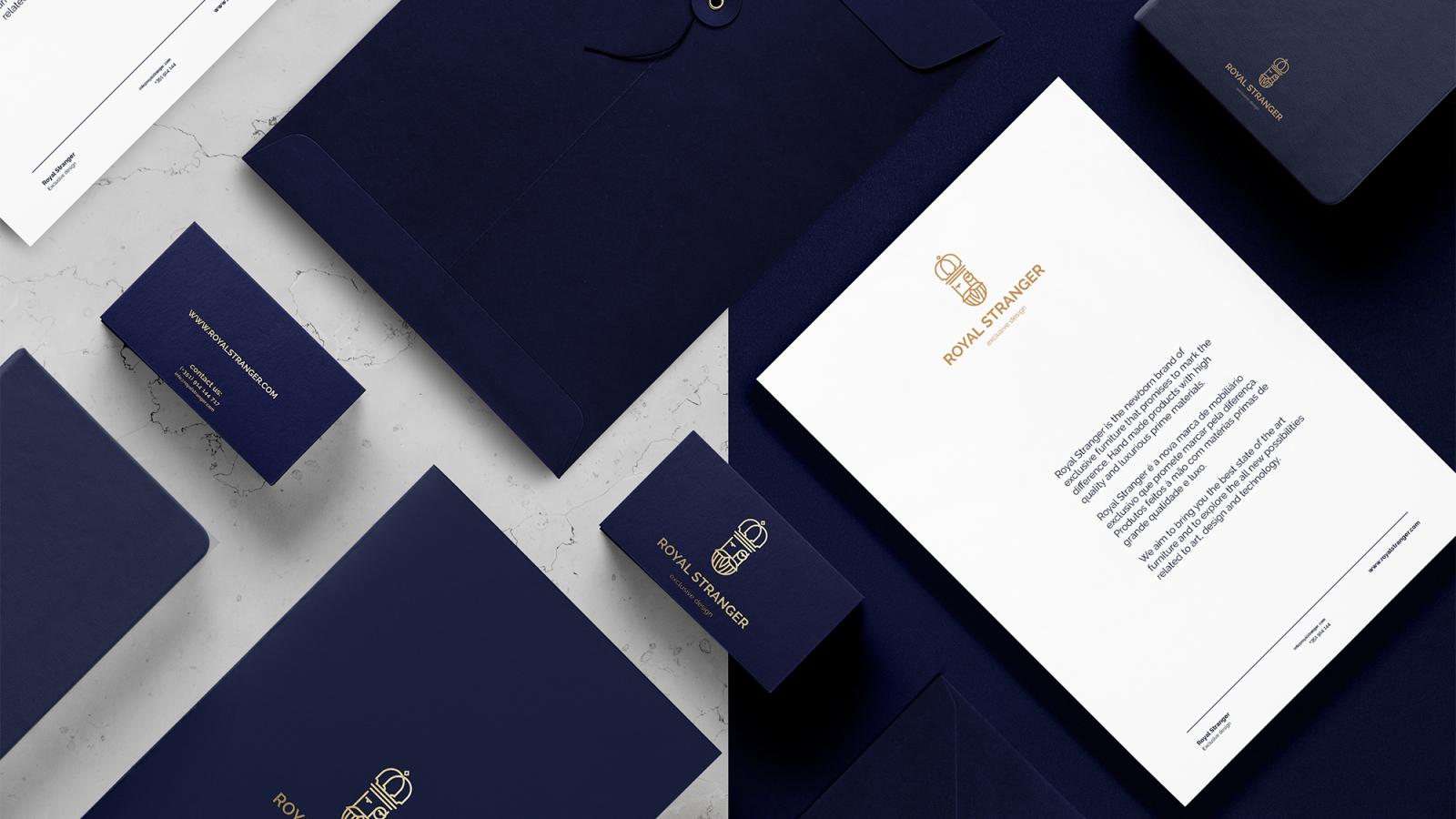 Awesome Brand Identity for Royal Stranger