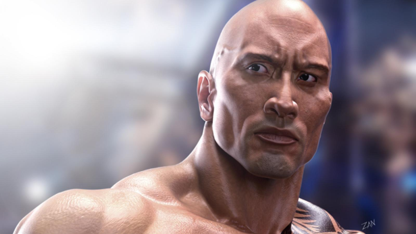 "Dwayne ""The Rock"" Johnson 3D"