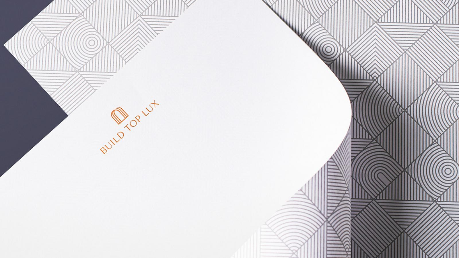Brand Identity for Real Estate Agency Build Top Lux