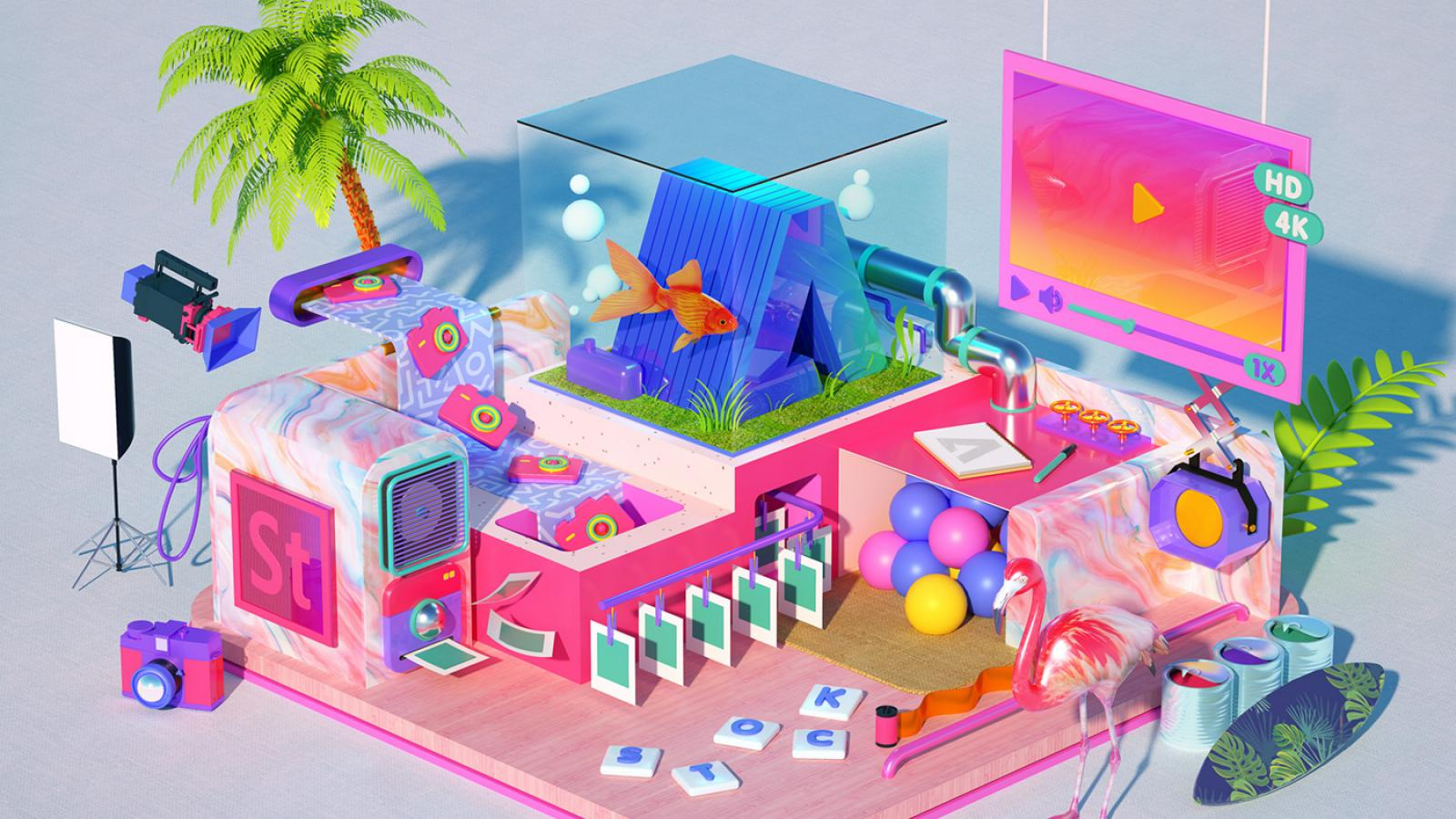 D Abduzeedo - 3d rendered experimental artworks