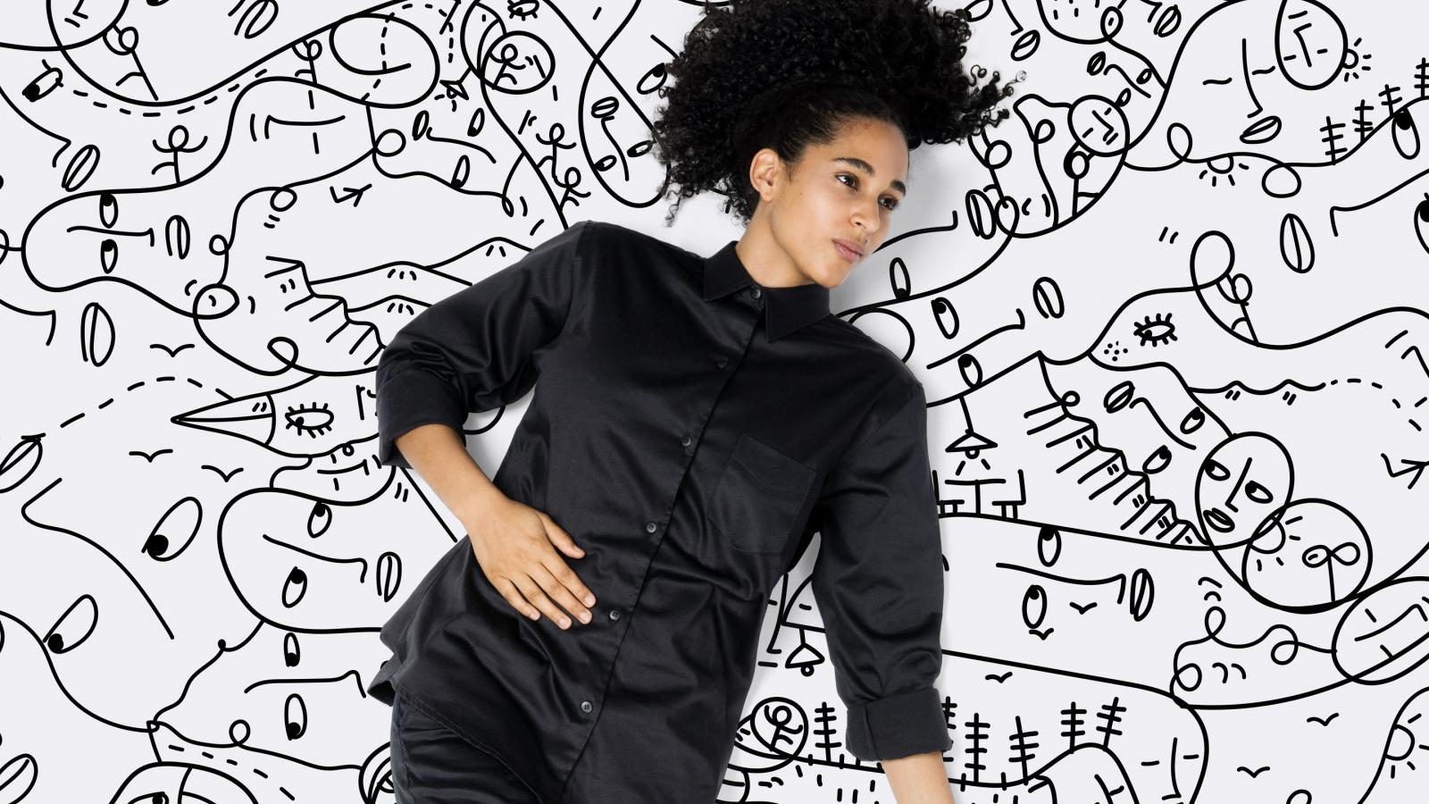 Interaction Design & Art Direction: Shantell Martin