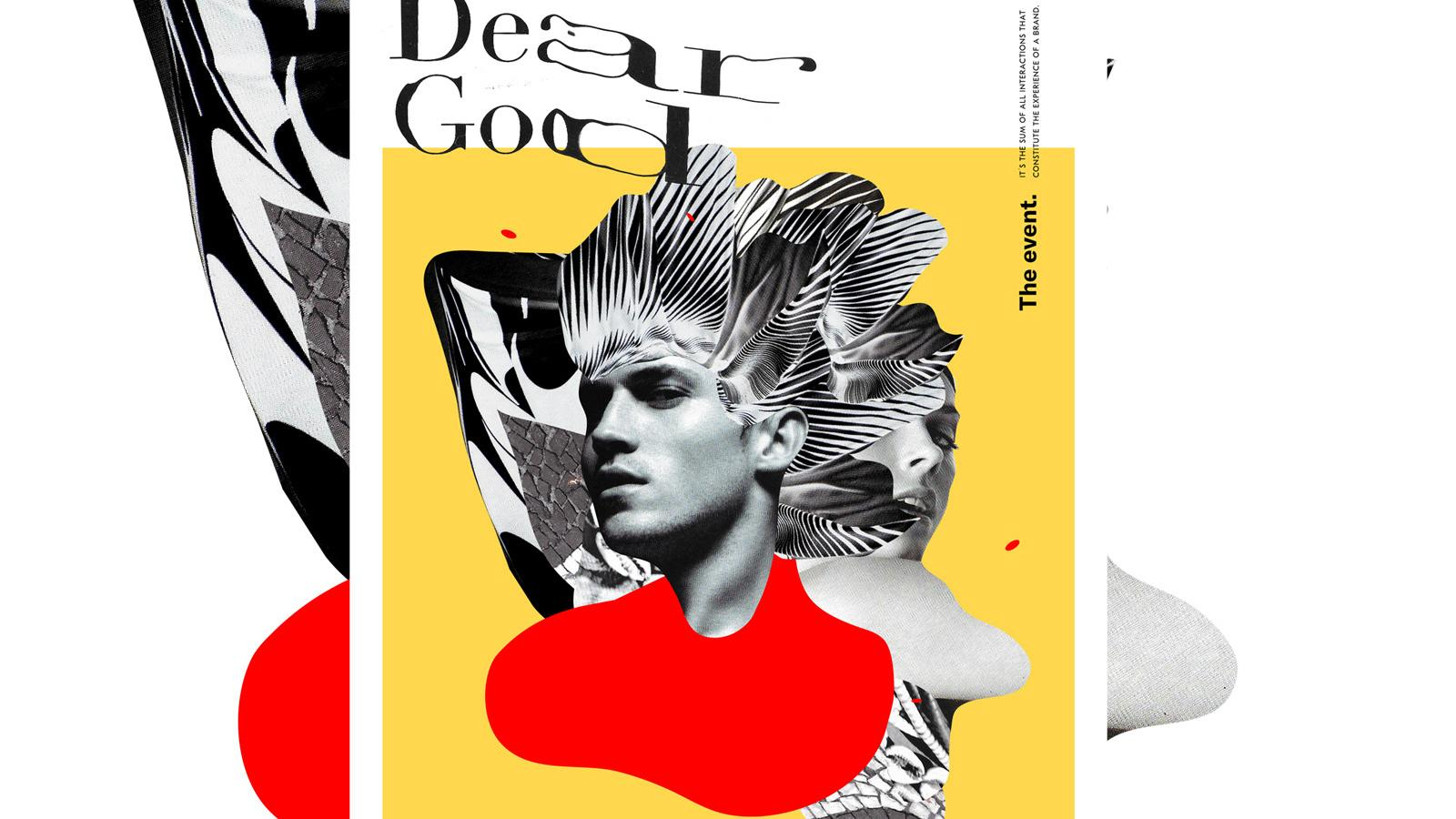 That 90s Look is Coming Back: Dear God Brand Identity