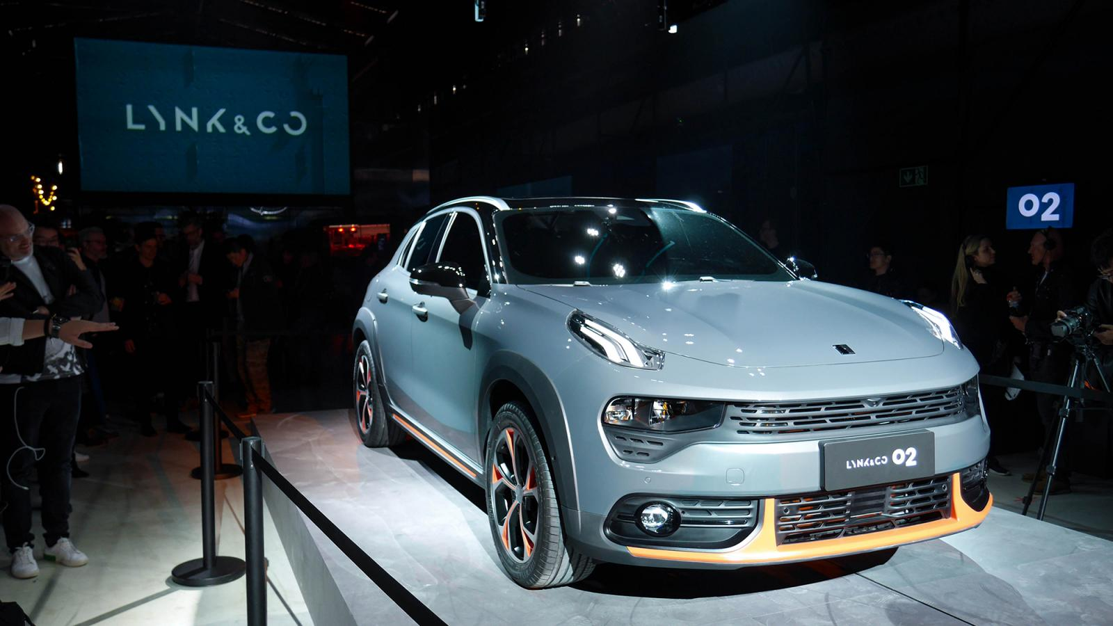 The new LYNK & CO 02 Crossover SUV: Changing mobility forever