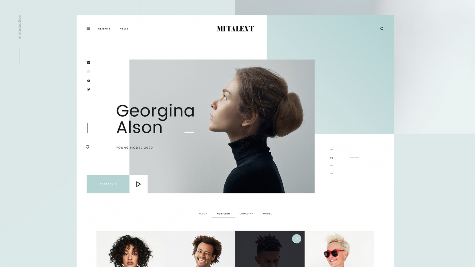 Web Design: Super Stylish Free Template