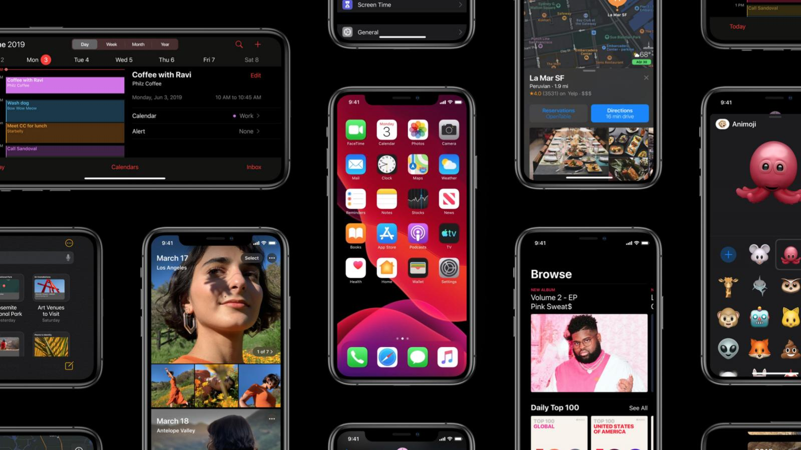 Apple introducing an entirely new OS for iPhone, iPad and its Watch - #WWDC19