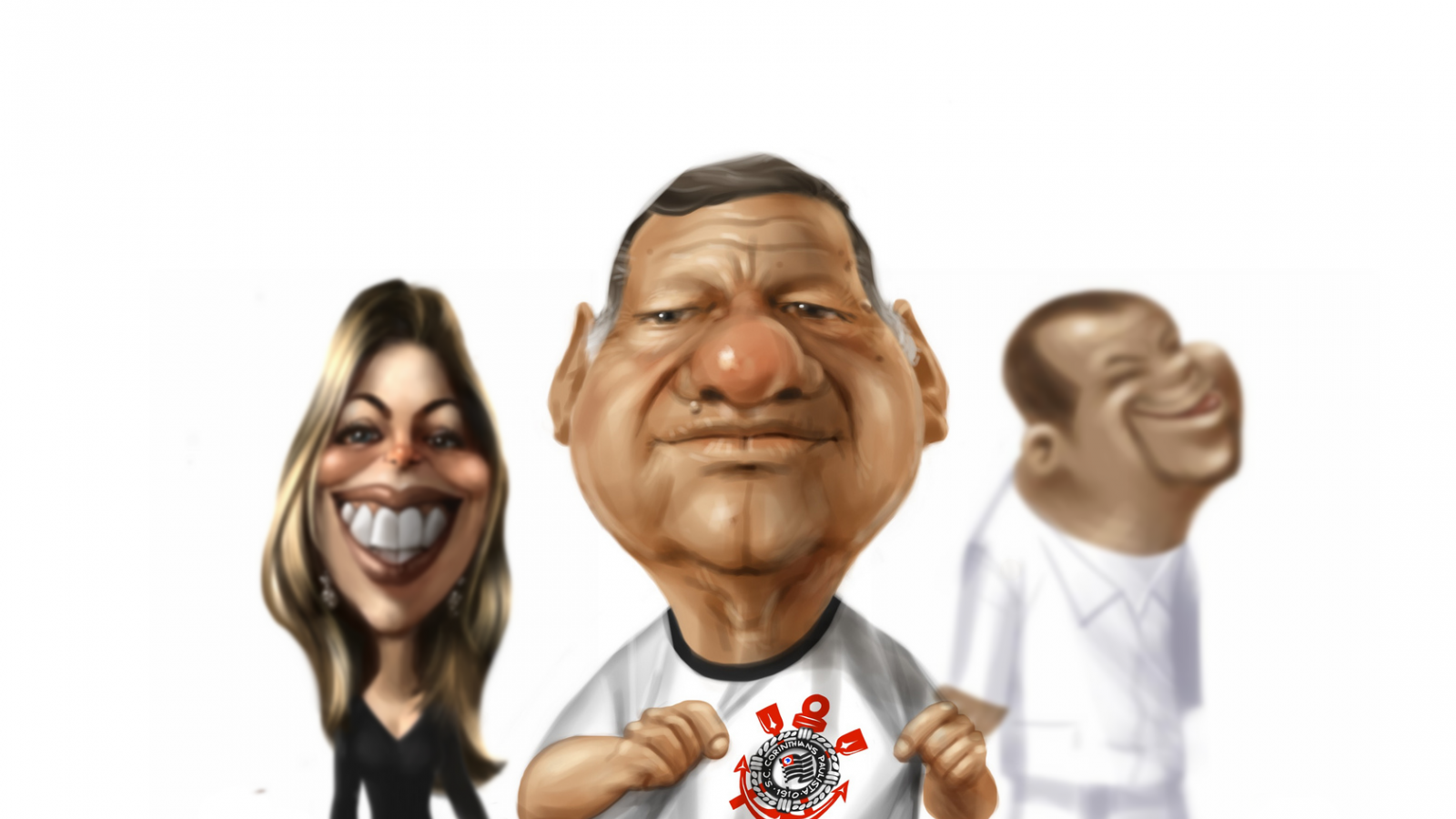 Amazing Caricatures Using iPad by Alex Leao