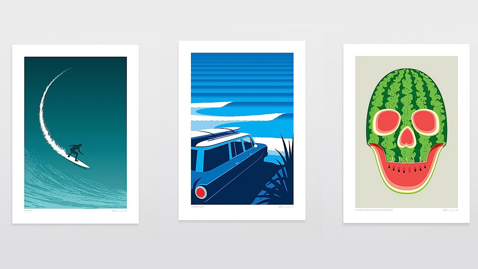 Cool Art Prints by Glenn Jones