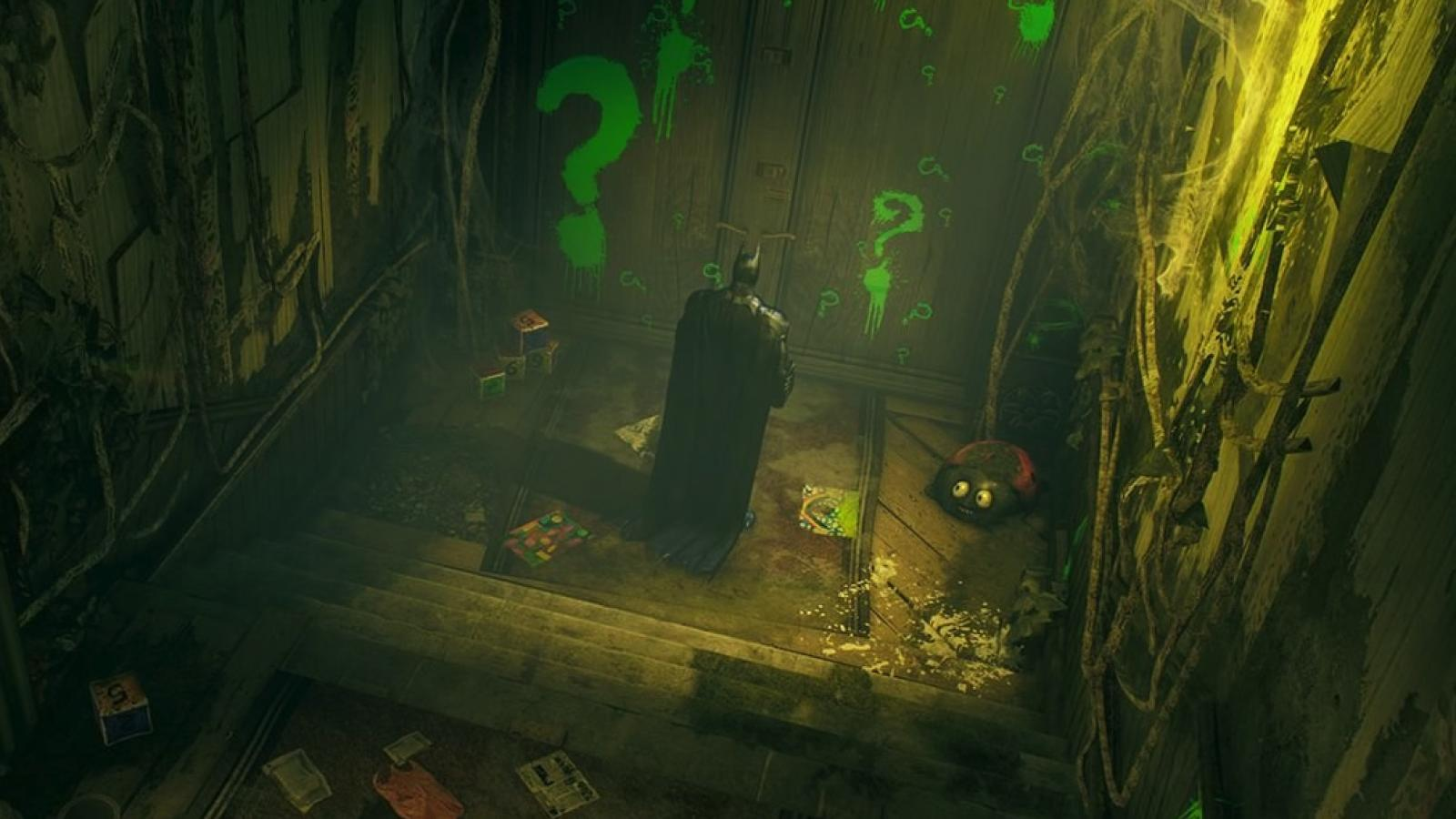 Batman Arkham Knight Environment Art