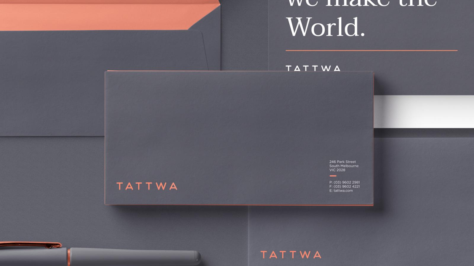 Stylish Brand Identity for Tattwa