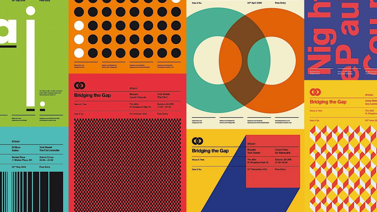Simplicity Poster Designs by Ross Gunter