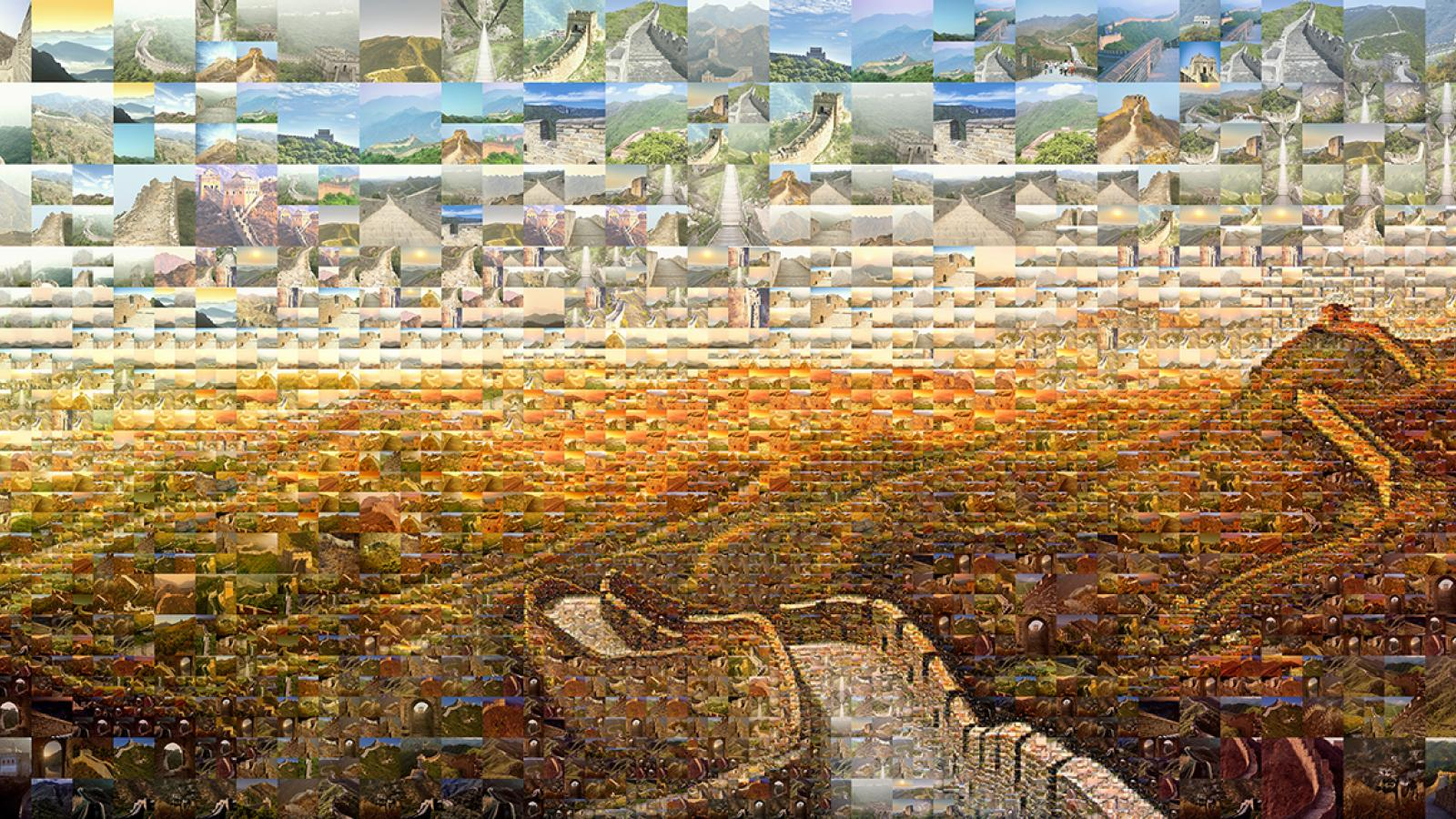 Incredible Photo Mosaics