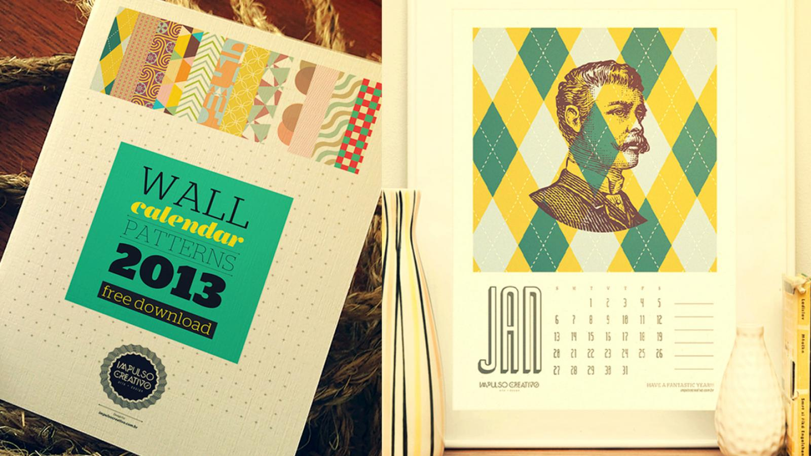Free 2013 Calendar by Impulso Creativo