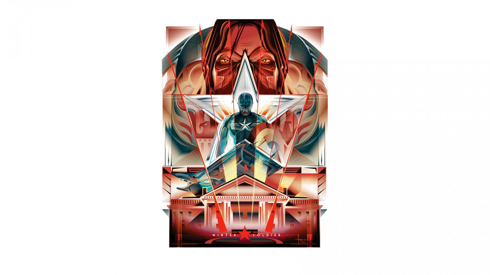 Captain America: The Winter Soldier Vector