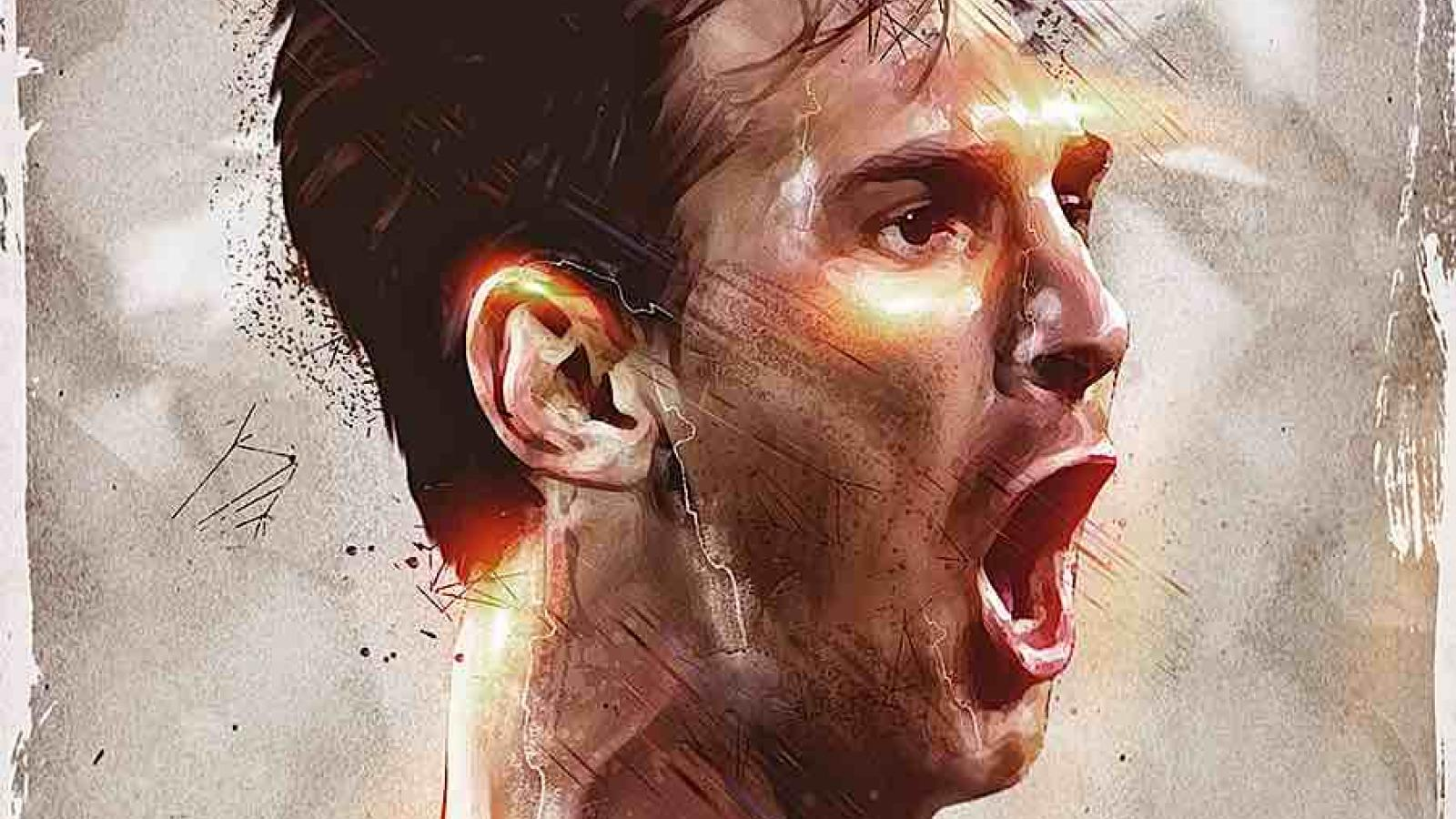 Artistic Portraits of Famous Athletes