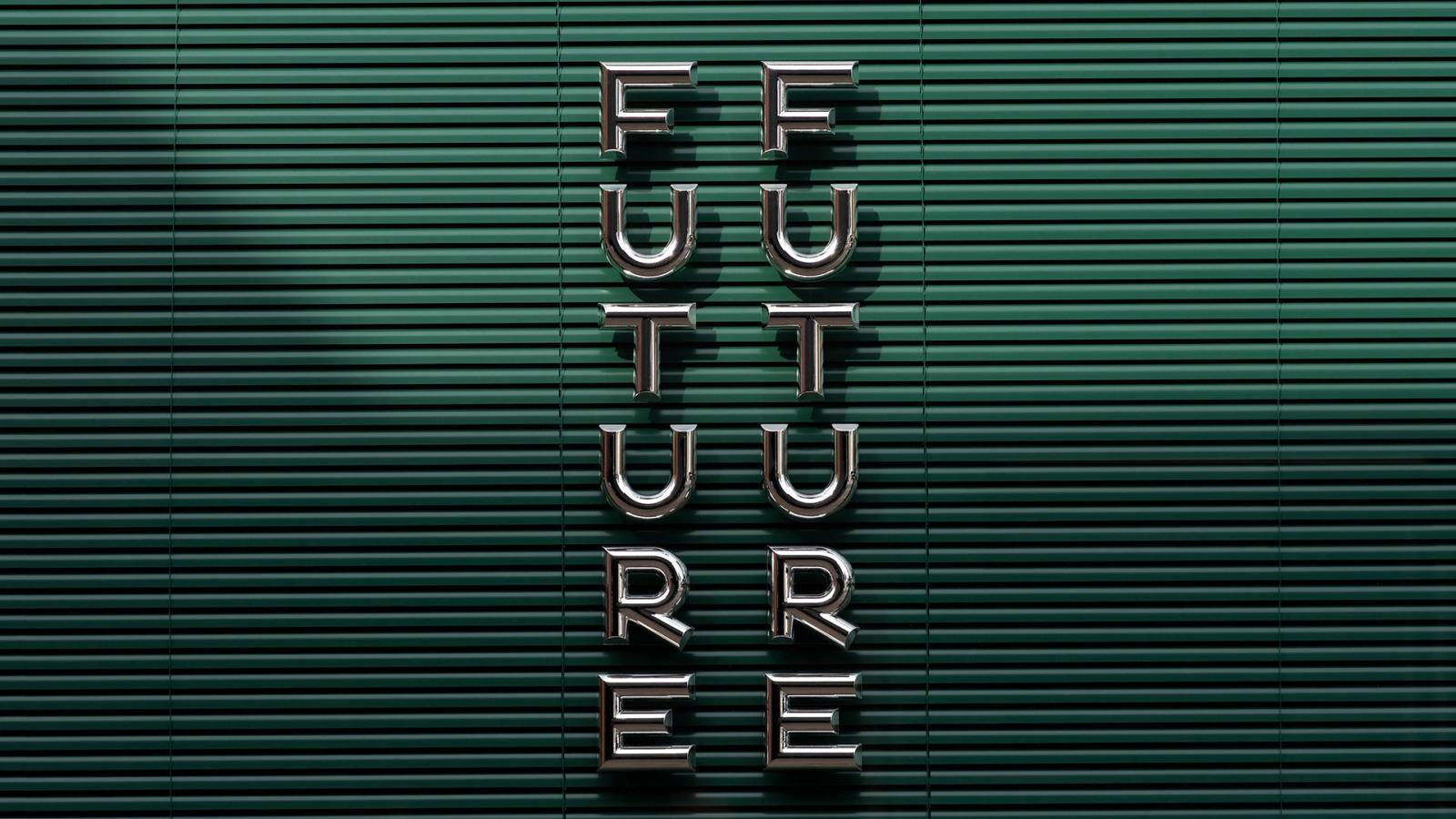Brand Identity for Future Future, a moody & contemporary restaurant