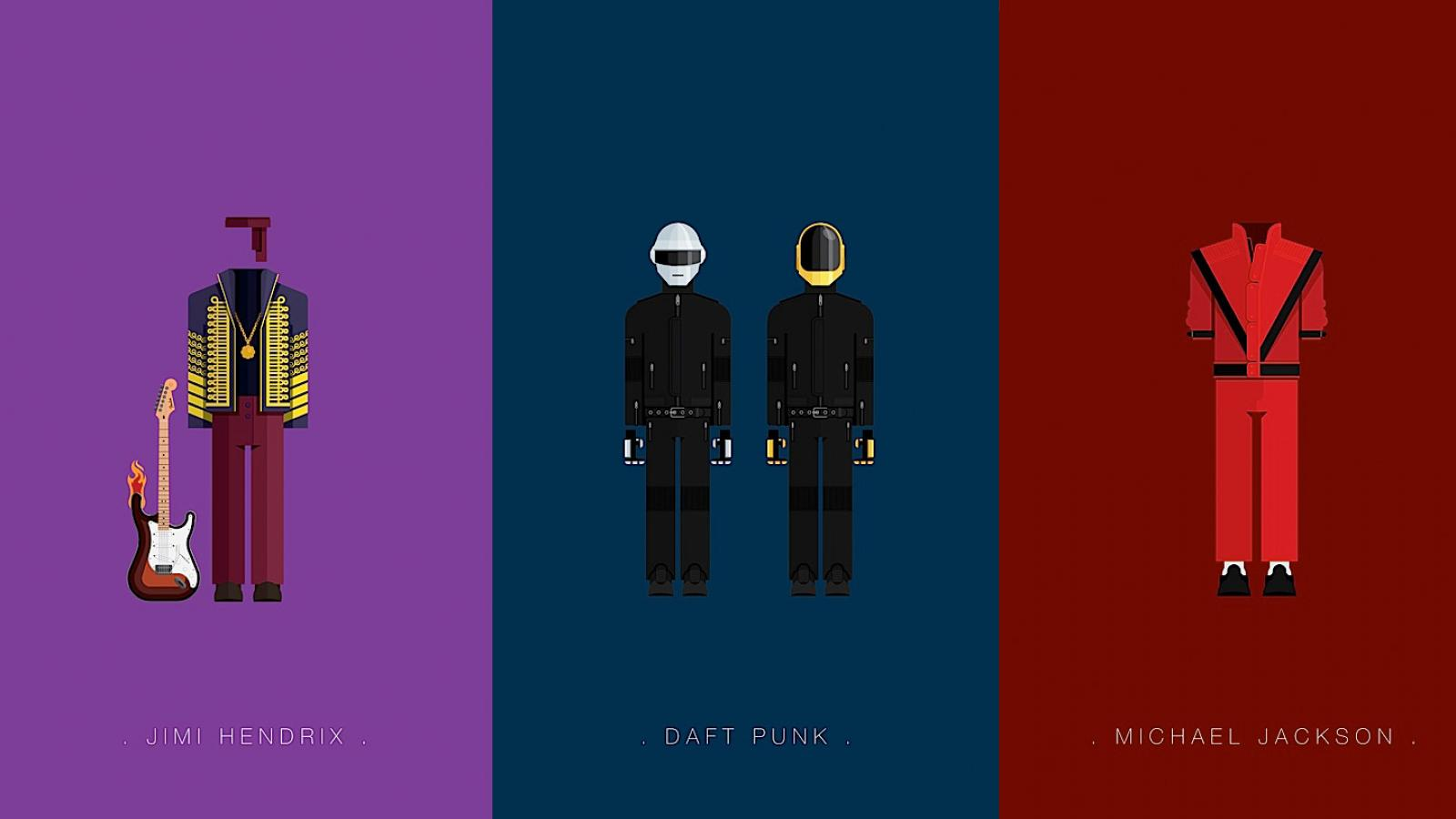 Illustrated Costumes of Famous Musicians