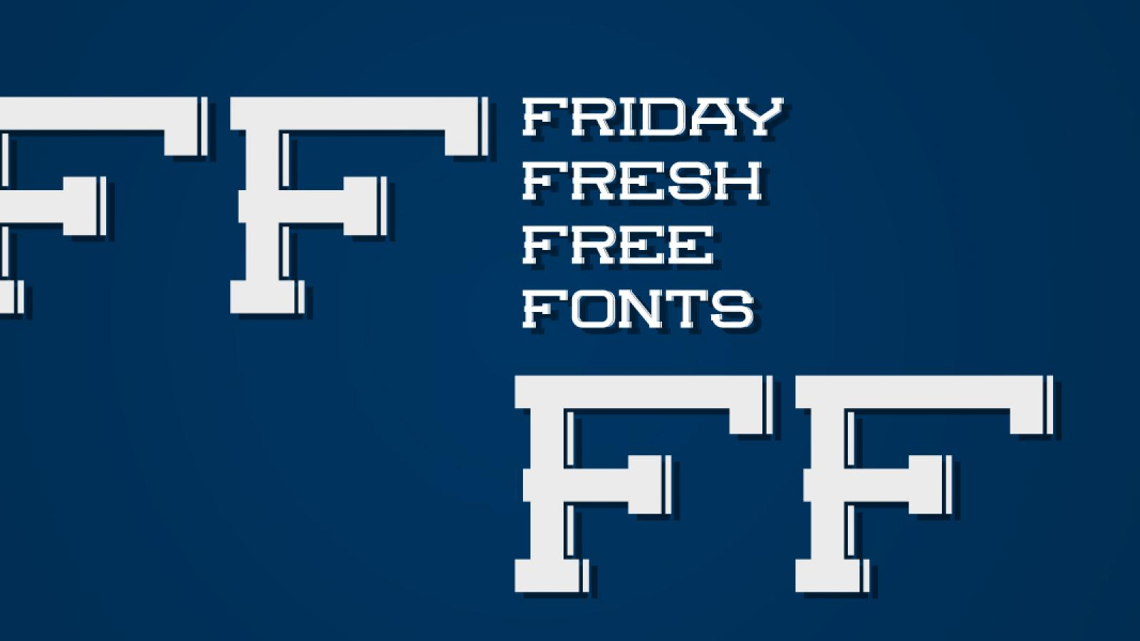 Friday Fresh Free Fonts - Molesk, Scifly, ...