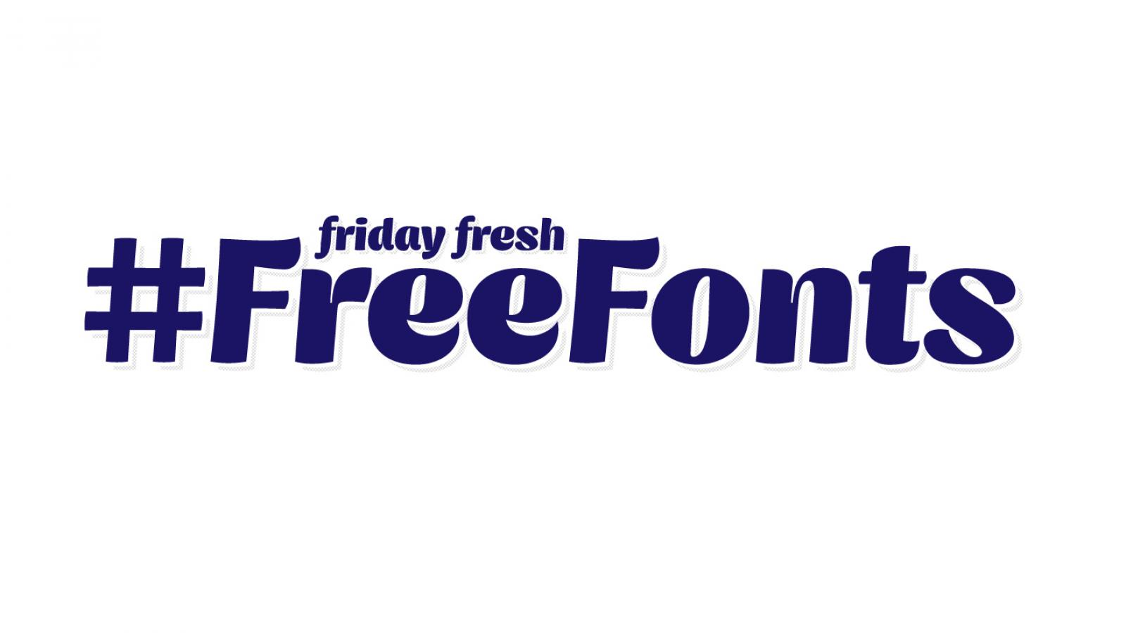Friday Fresh Free Fonts - Guitar Acoustic, Tryst, Genica