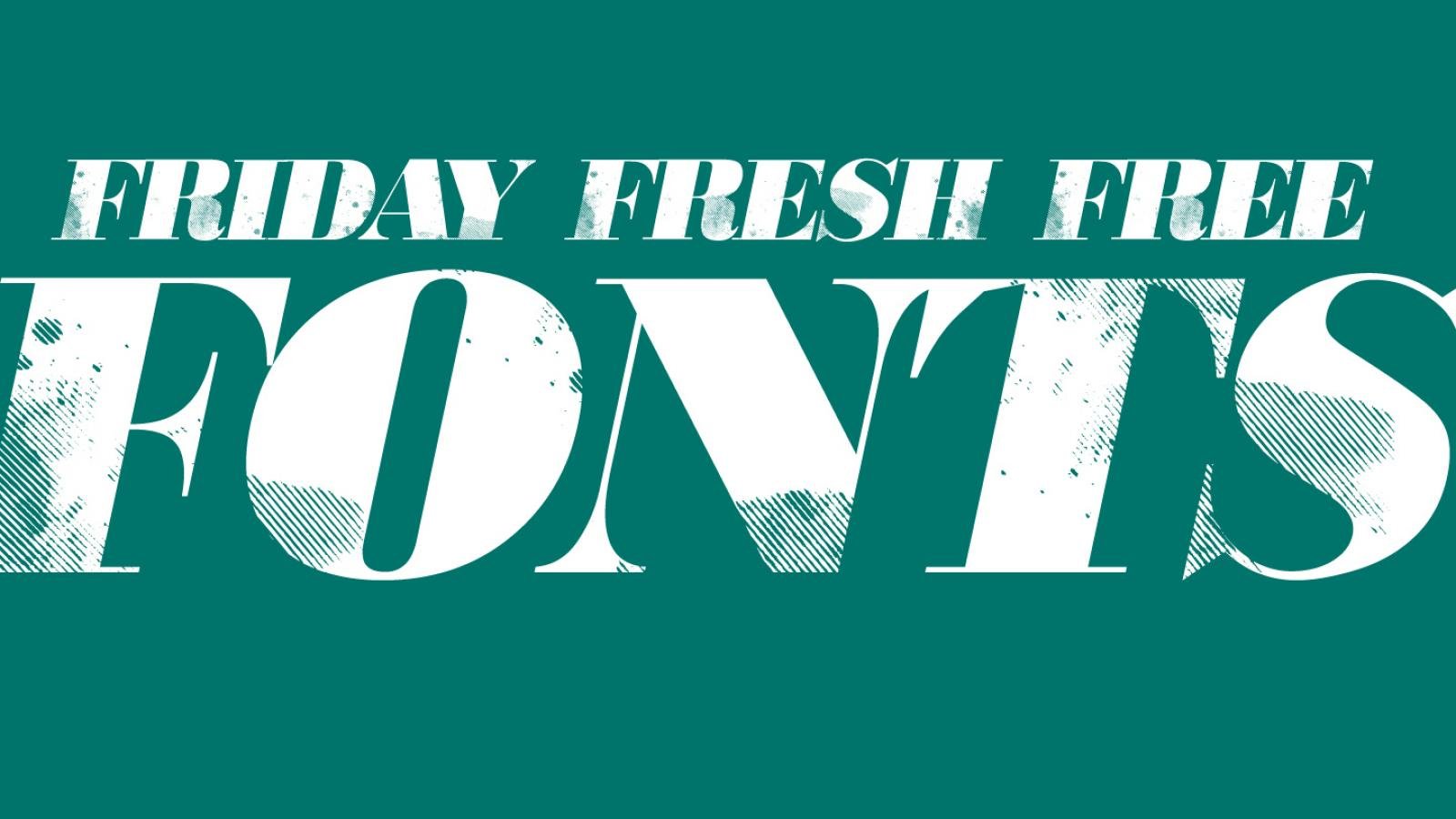 Friday Fresh Free Fonts - Goudy, 806 Typography, Cookie