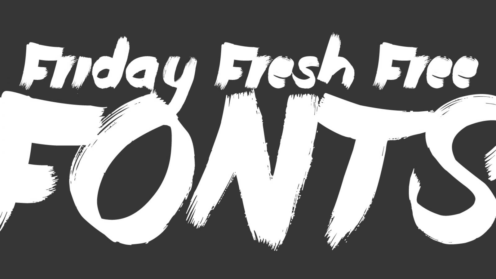 Friday Fresh Free Fonts - Showcase, Modum, Born Wild
