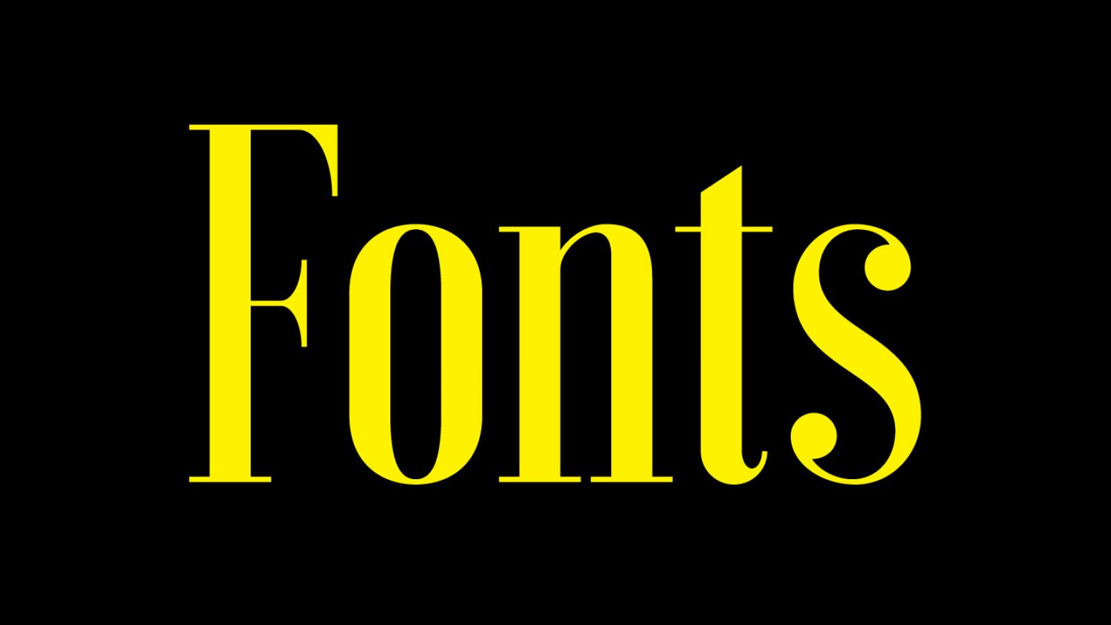 Friday Fresh Free Fonts - Leon, Smidwater, Voga