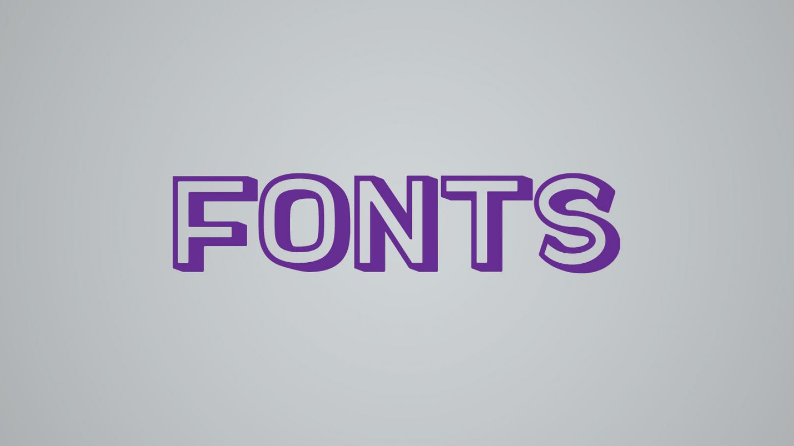 Friday Fresh Free Fonts - Docker, Luthier, Nexa Rust
