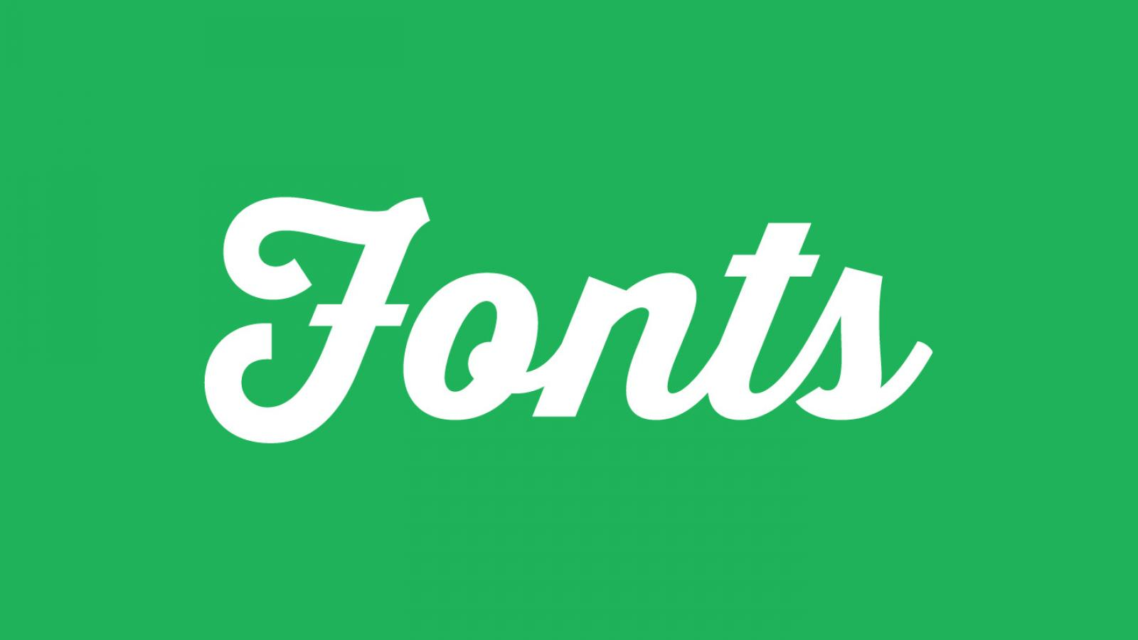 Friday Fresh Free Fonts - Thirsty Script, Arca Majora, Seriffic