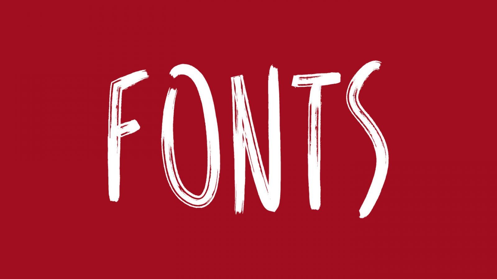 Friday Fresh Free Fonts - Duma Bold, Reis, Big John