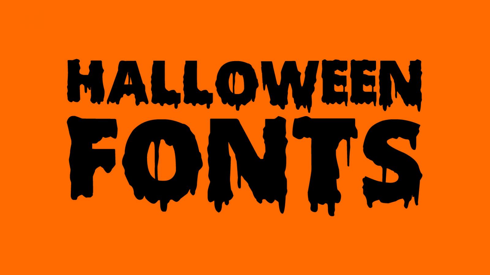 Friday Fresh Free Fonts - Scary Halloween, Young Frankenstein, Necrotype