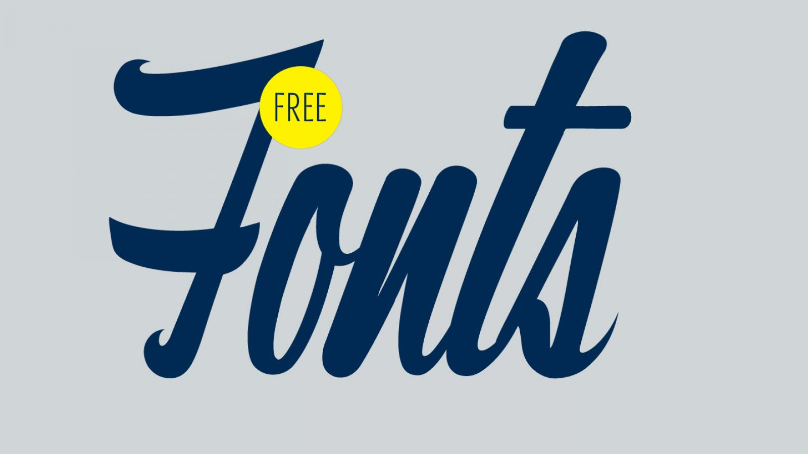 Friday Fresh Free Fonts - Densia Sans, Postamt, The Cinthia Edito