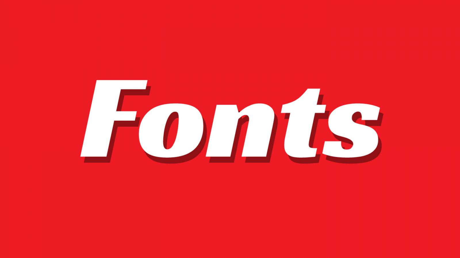 Friday Fresh Free Fonts - Racing Sans, Chelsea, Vincent