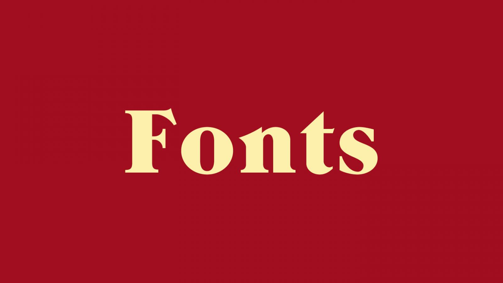 Friday Fresh Free Fonts - Magra, Grandee, Slabo