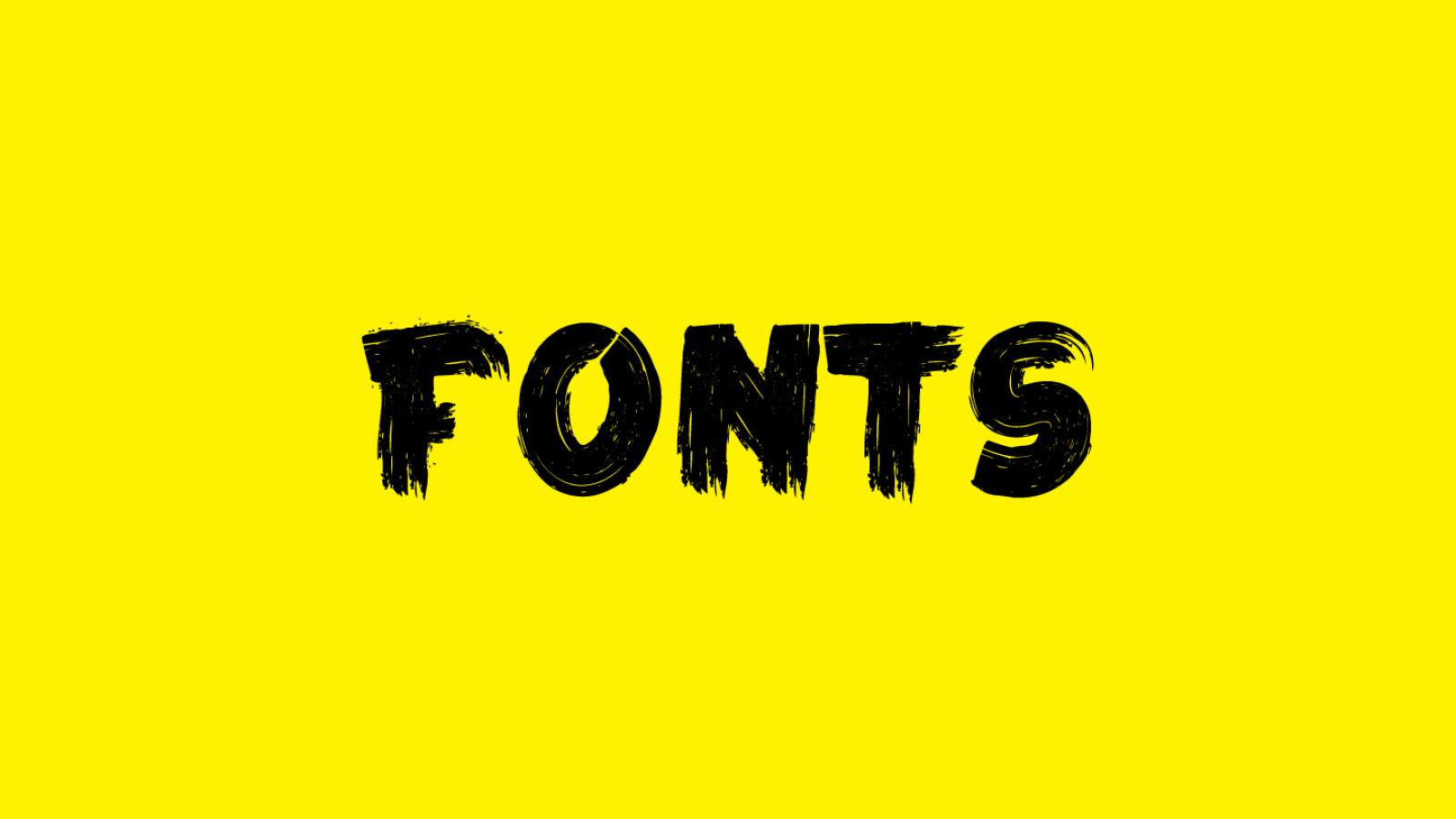 Friday Fresh Free Fonts - Frontenac, Simply Rounded, La Kame a Leon