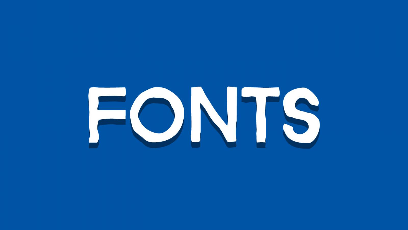 Friday Fresh Free Fonts - Bolina, Bauru, Bizon