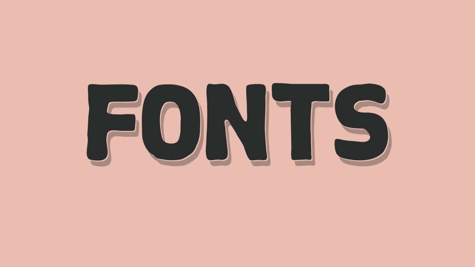 Friday Fresh Free Fonts - Goral, Chameli, Chubby