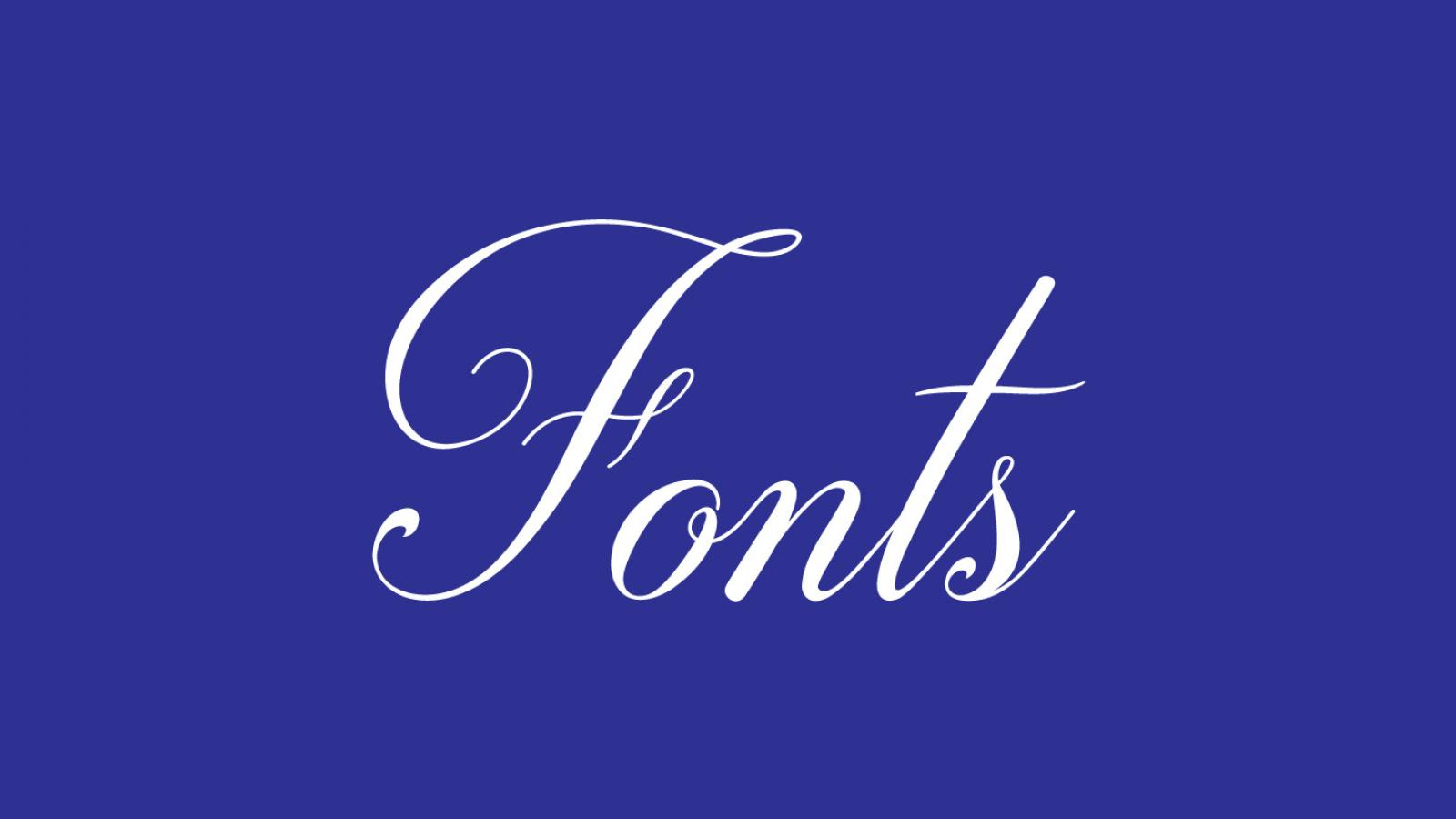Friday Fresh Free Fonts - Generica, Darleston, Glacial Indifference