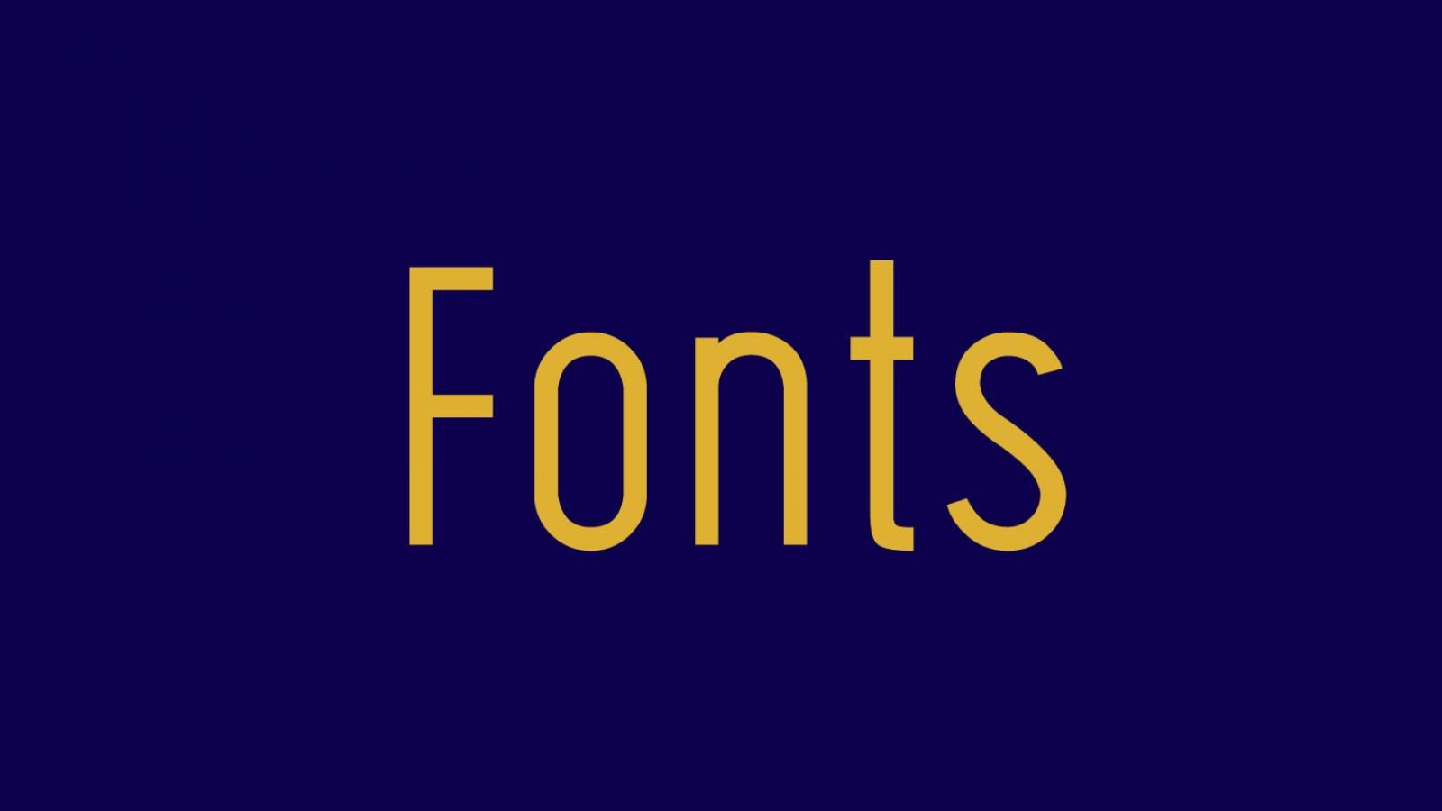 Friday Fresh Free Fonts - Plumeria, Wask New, Lugina