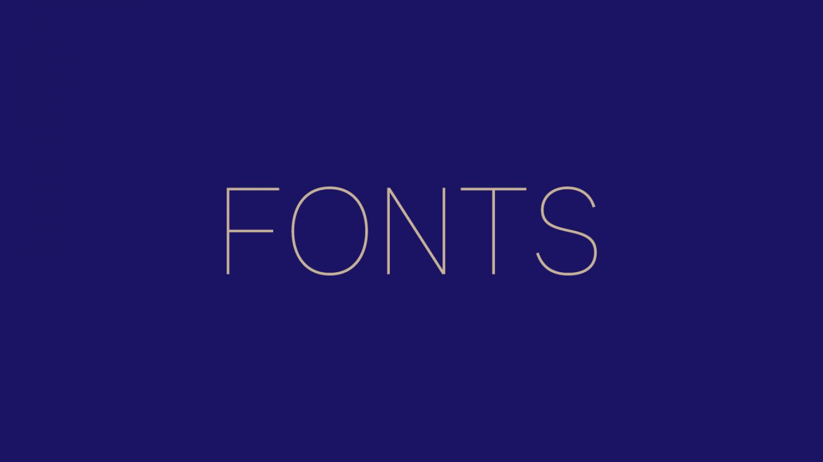 Friday Fresh Free Fonts - Stilu, Genome