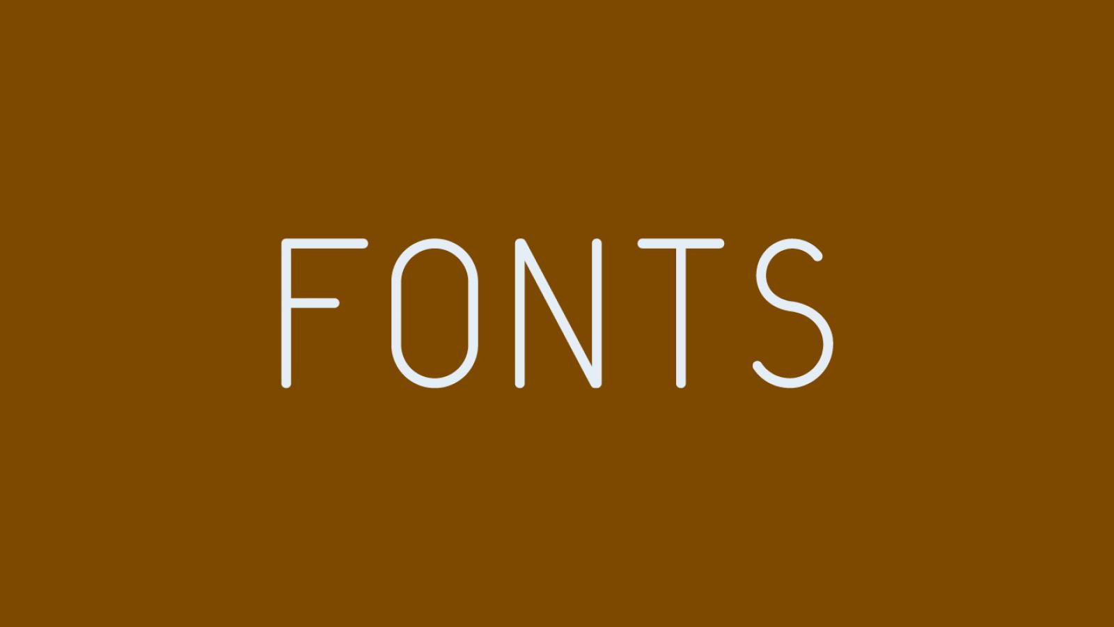 Friday Fresh Free Fonts - Quest, Pitch Display