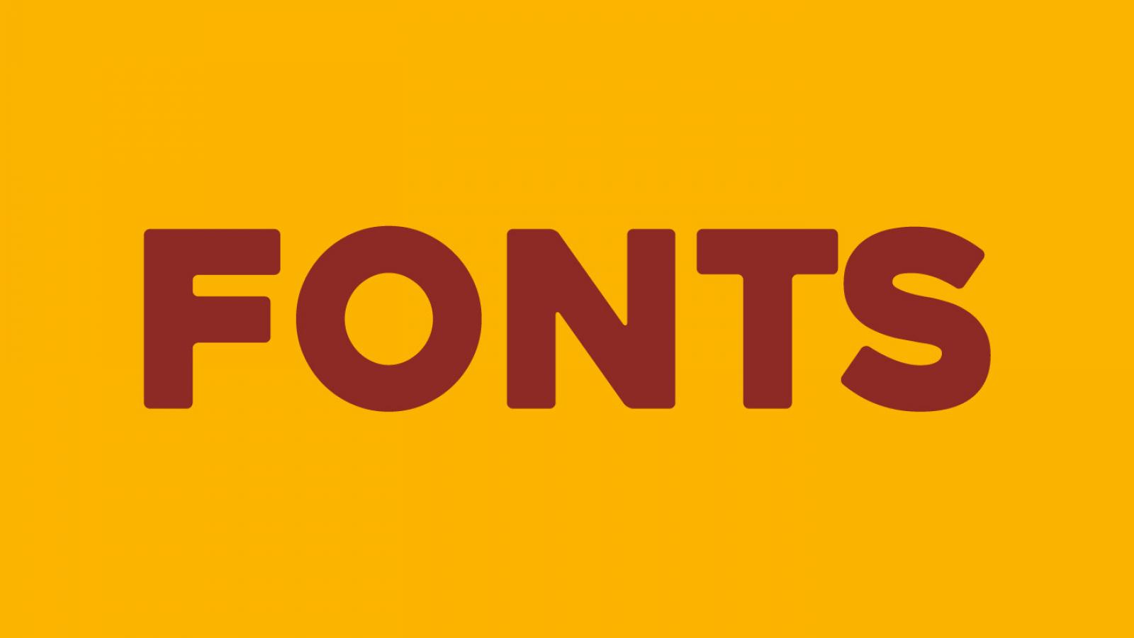 Friday Fresh Free Fonts - Red Velvet, Heavitas