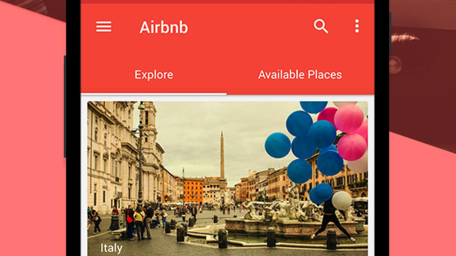 Airbnb - Google Material
